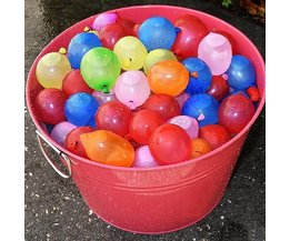 Inflatable Water Balloons In Different Colors