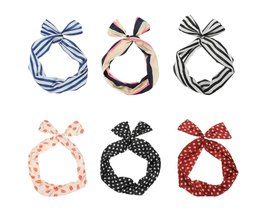 Retro Headband With Different Patterns