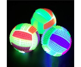 Mini Volleyball With Spines And LED Light