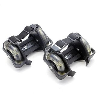 Rollerskate With Two Wheels And Indicators