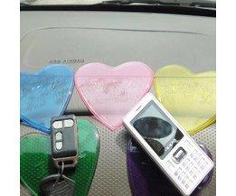 Anti-Slip Mat Car Heart-Shaped