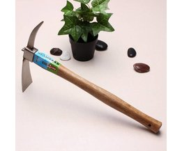 Pickaxe Gardening With Wooden Handle