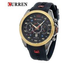 CURREN 8166 Sport Watch In Multiple Colors