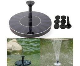 Fountain On Solar Energy