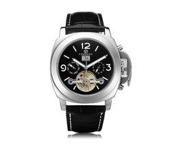 Forsining Mechanical Men'S Watch With Flywheel