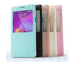Leather Case For Samsung Galaxy Note 4