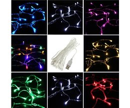USB Cord With 20 LED Lights