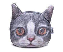 Miwo Wallet With Cat