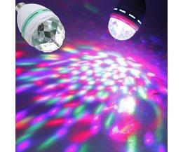 E27 RGB Spot With Disco Effect
