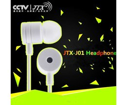 JTX White Earbuds