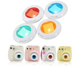 Colors Filters For Fuji Instax Camera (4 Pieces)