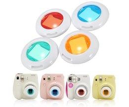 Colors Filters For Fuji Instax Camera (4 Pieces)