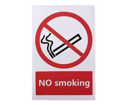 No Smoking Sticker 100X150 Mm
