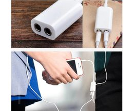 3.5Mm Splitter For Ears 1 To 2 Outputs For Smartphone
