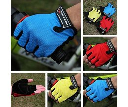 Welloo Cycling Gloves With Fingers And Half Gel Filling