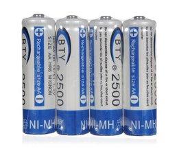 AA Batteries 4 Pieces