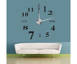 Large Wall Clock DIY Set