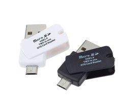 2-In-1 USB 2.0 Card Reader
