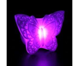 LED Nightlight Butterfly On Battery