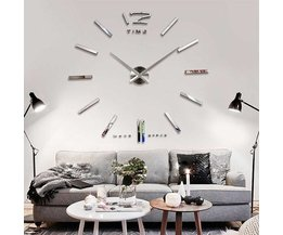 Wall Clock With 3D Effect