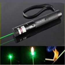 Laser Pointer 5Mw With Green Laser Light And Focus Burn.