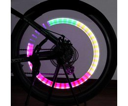Bicycle Valve Light With LED