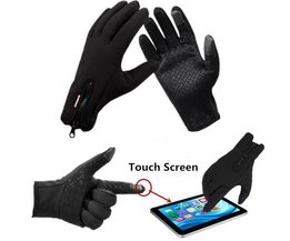 Touch Screen Winter Gloves With Fleece Lining