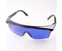 Safety Glasses Against Red Laser Light