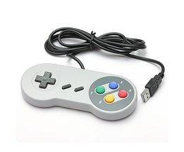 Retro SNES Controller For PC