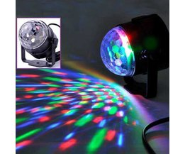 Mini Disco Lights With Crystal Effect