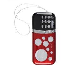 Portable PN-99 Mini Card Radio Speakers