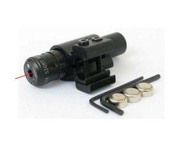 Adjust Barel Bare Laser Rifle With Red Light