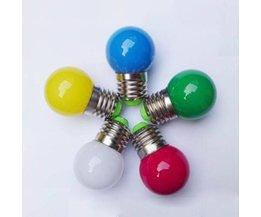 Colored LED Bulbs 0.5 Watts