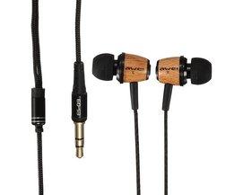 Wood Bass Earphones