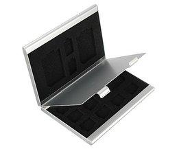 13 In One Storage SD Card Case Aluminum