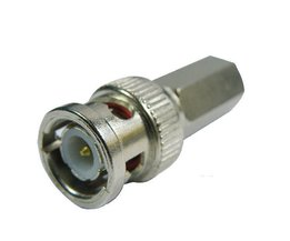 Twistable Connector For Coaxial Cables