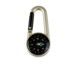Outdoor Compass With Carabiner