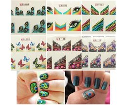 Nail Stickers Butterfly