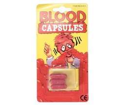 3 Fake Blood Capsules For Parties And