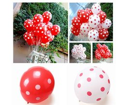 Colorful Latex Balloon With Dots