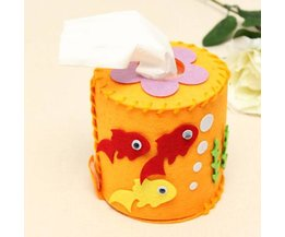 3D Cylindrical Tissue Holder In Fish Motif