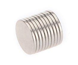 10 Disc-Shaped N35 Neodymium Magnets