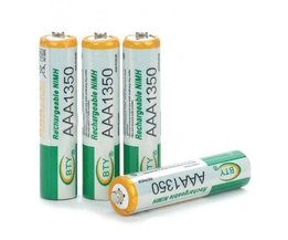 AAA Rechargeable Batteries (4 Pcs)