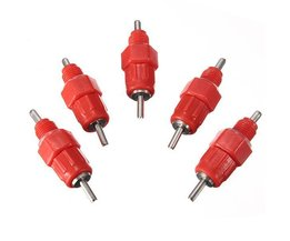 Nipple Drinkers For Chicken (5 Pieces)