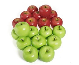 Green Or Red Fake Apple