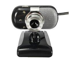 Mini Webcam With LED Lights