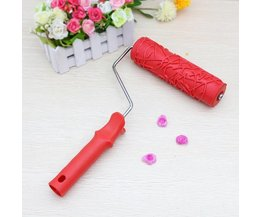 Paint Roller With Figures