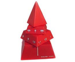 Pyramid Design Clock EMPO