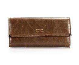 PU Leather Clutch Wallet