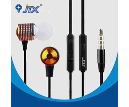 JTX JL520 Earphones With Microphone Hands With Super Bass Sound